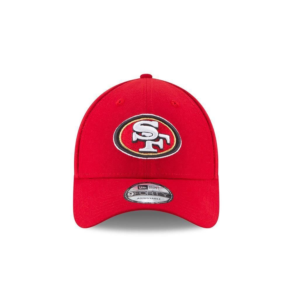 newest collection 6664e 7fefc NEW ERA SAN FRANCISCO 49ERS BASEBALL CAP.9FORTY NFL THE LEAGUE RED FOOTBALL  HAT